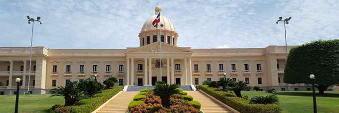 government building in the Dominican Republic