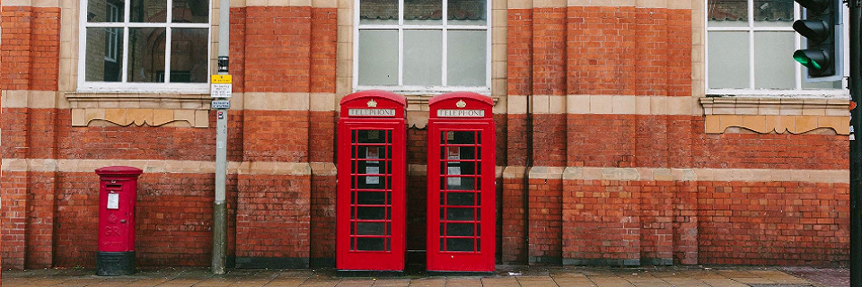 Phone booths in Leicester